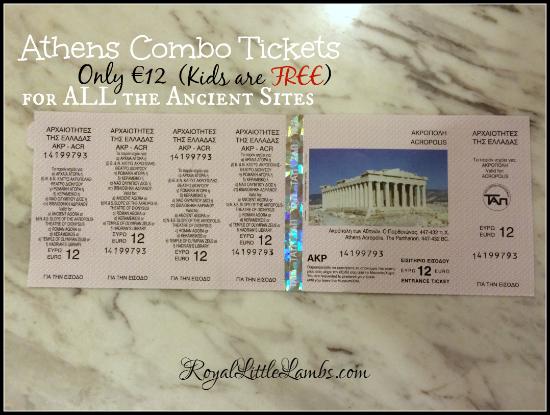 Athens Combo Tickets