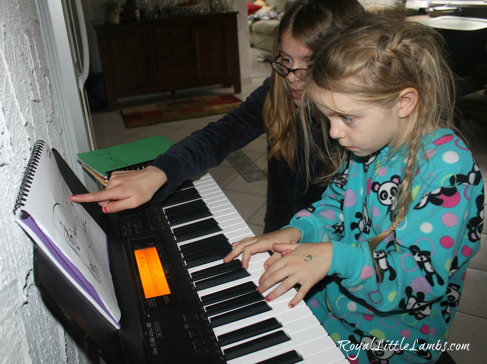 Big Sister Piano Teacher