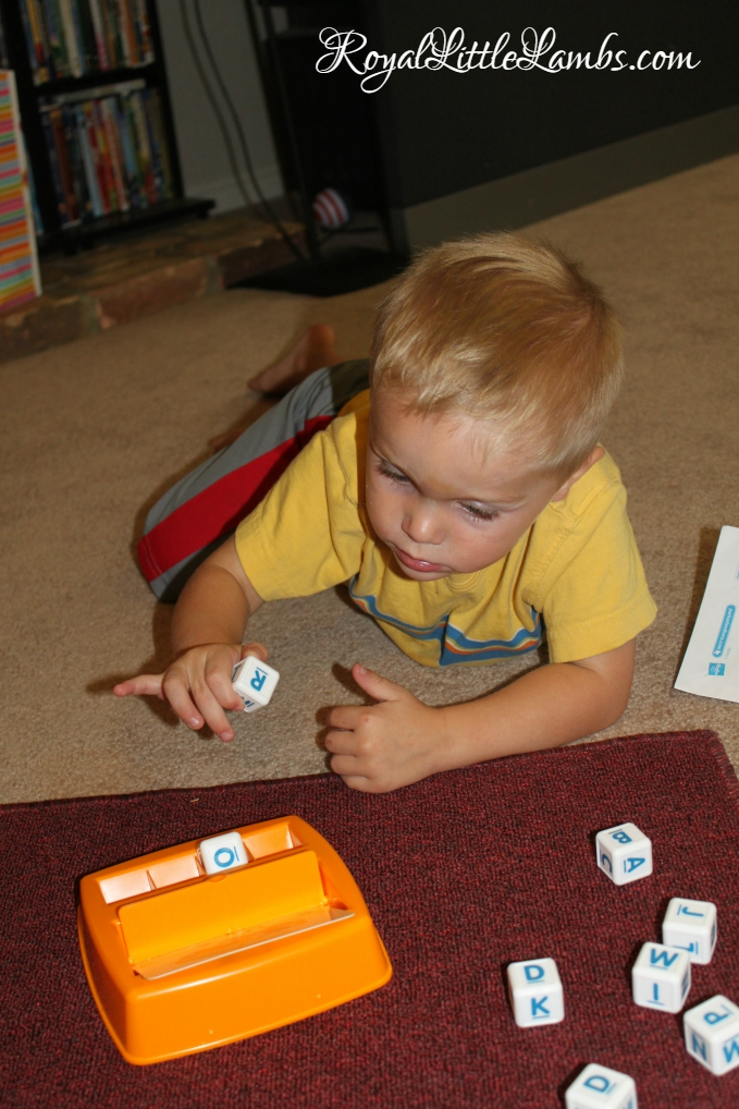 Boggle Junior Play