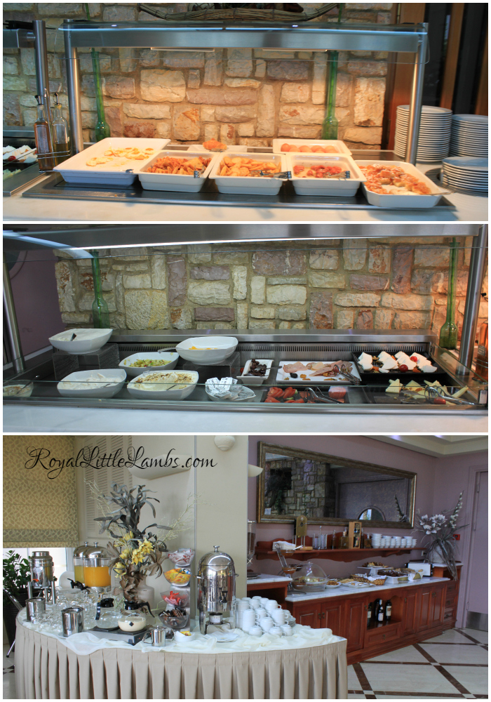 Breakfast Buffet at the Hotel AKTI TAYGETOS