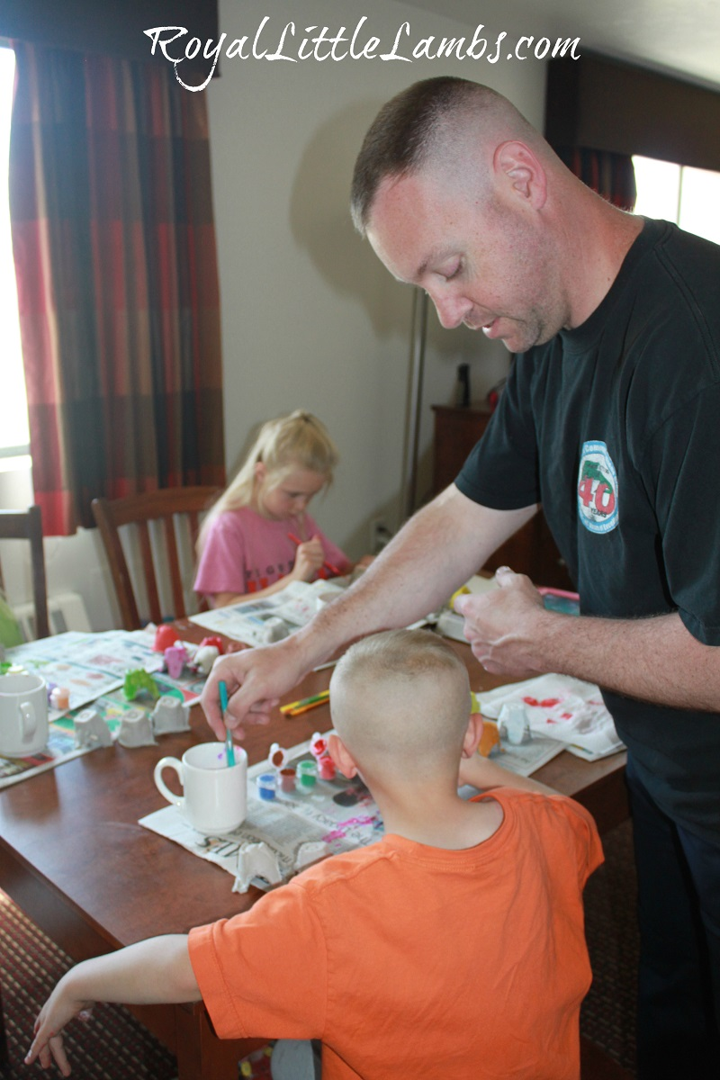 Craft Time with Daddy
