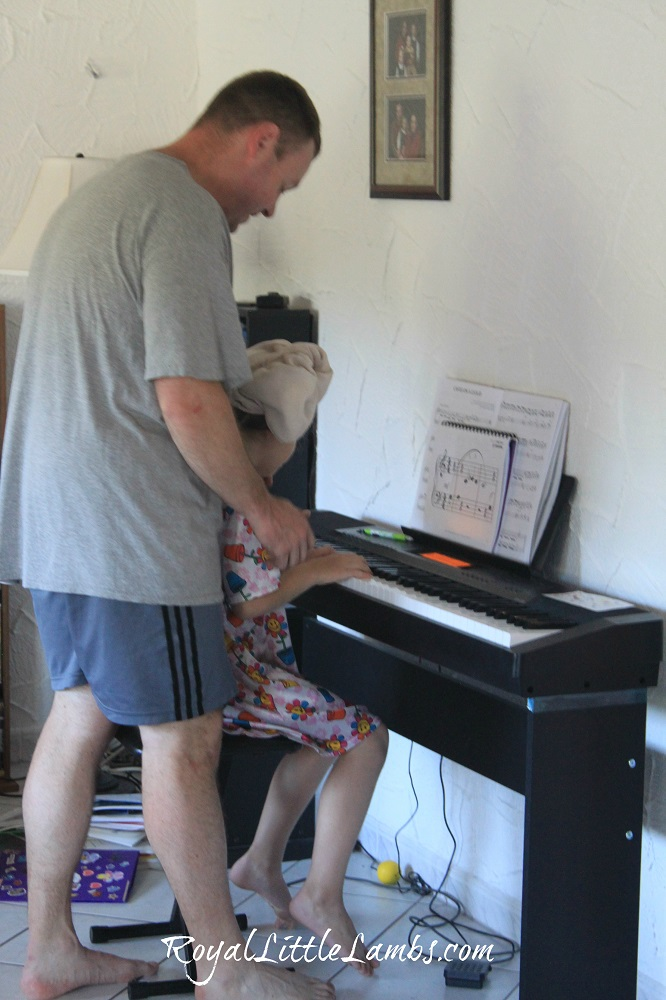 Dad piano lessons
