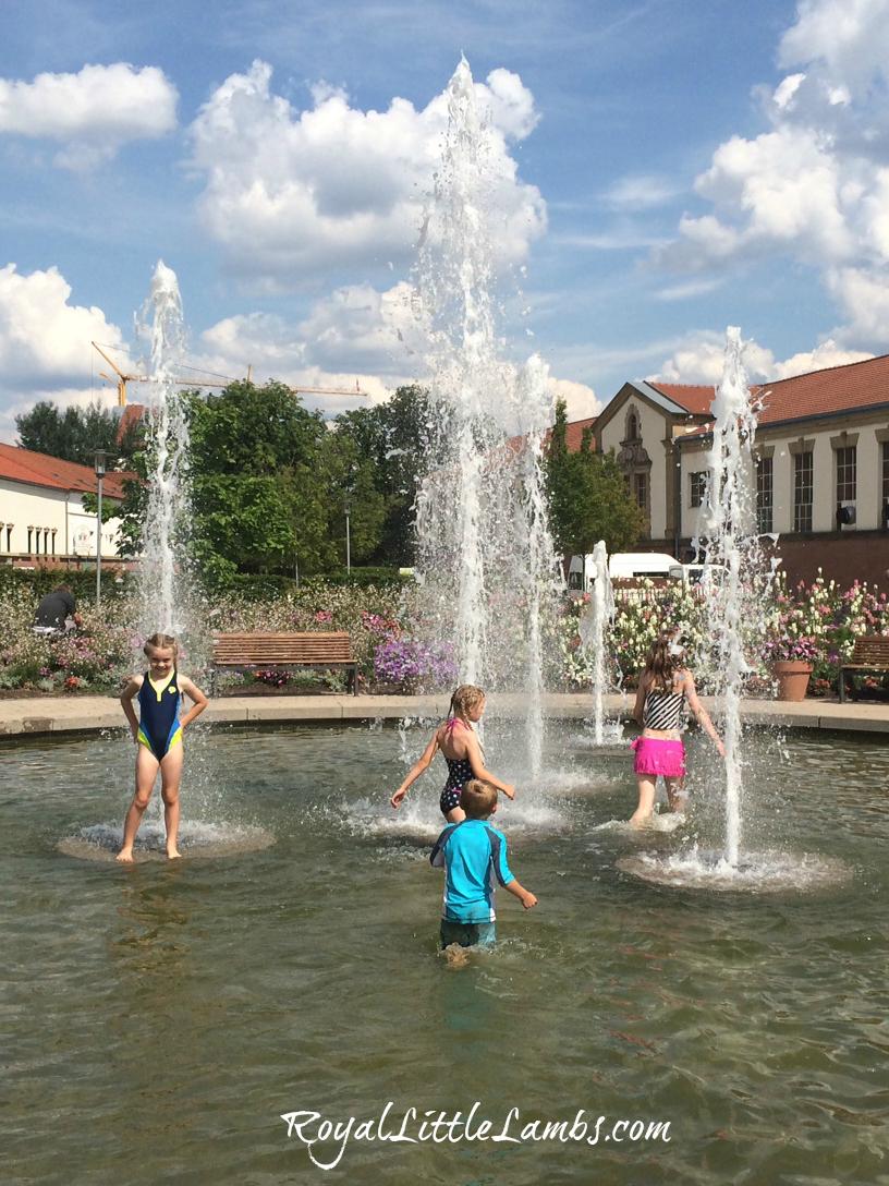 Dino Park Fountain