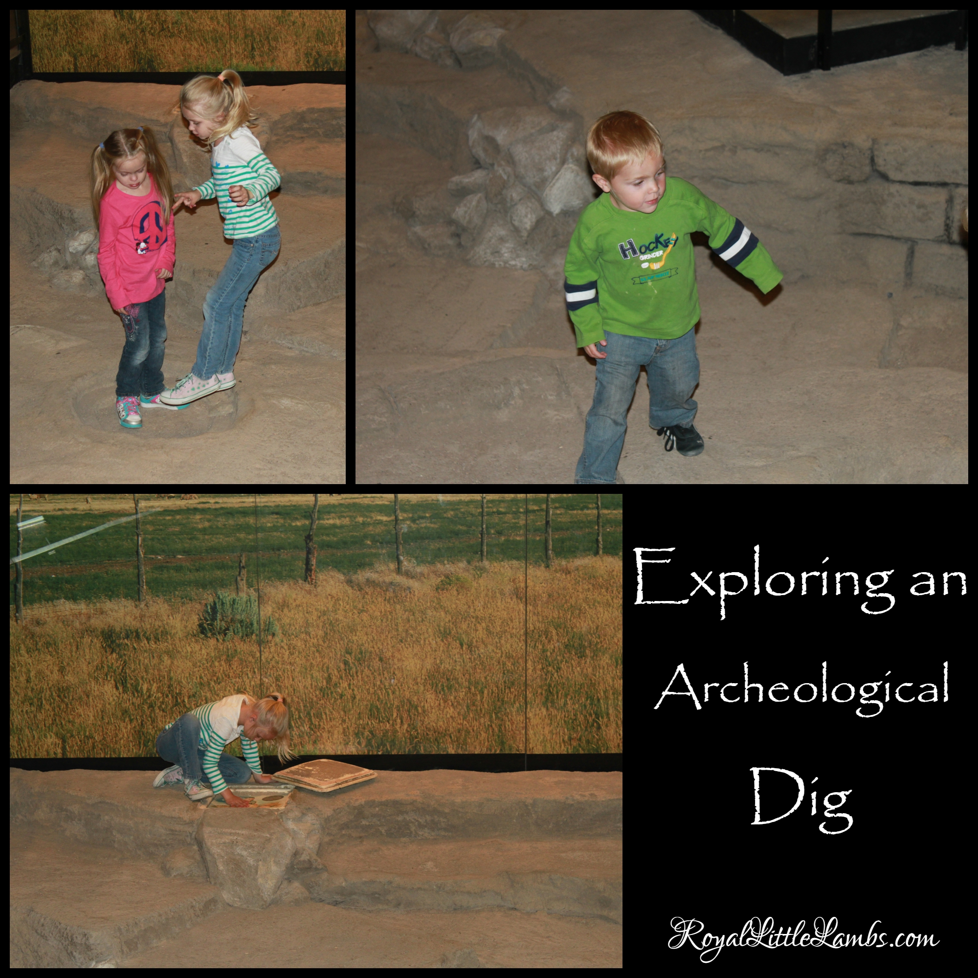Exploring an Archeological Dig Site