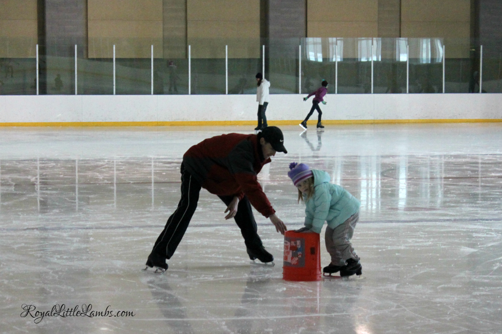 First Ice Skating Lesson