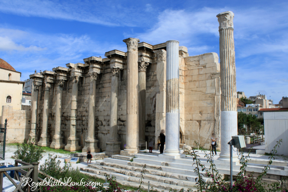Hadrian's Library Columns