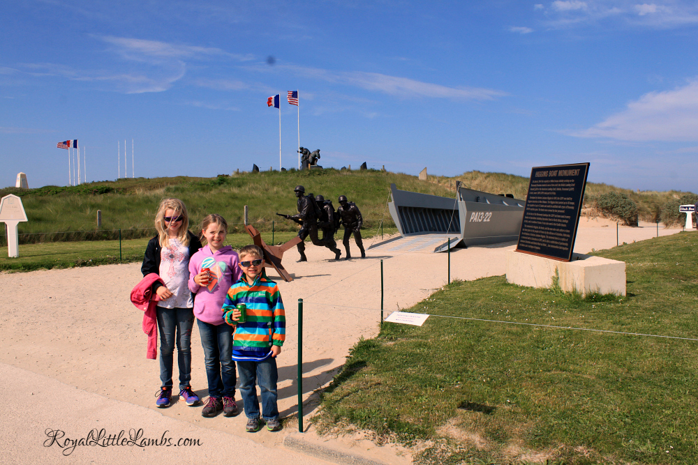 Higgins Boat Monument at Utah Beach