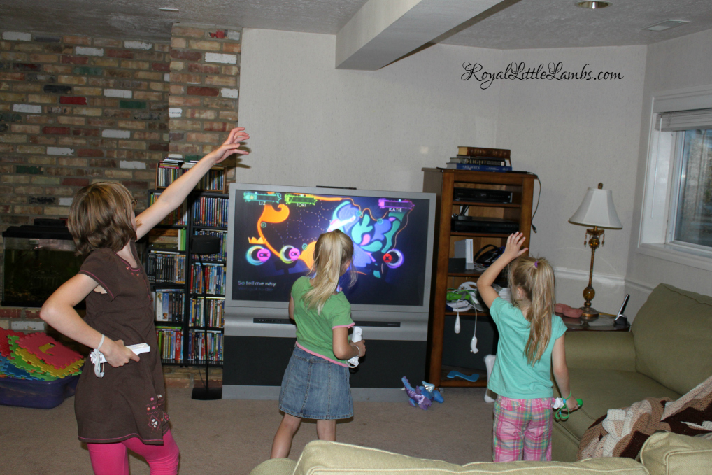 Homeschool PE with Wii