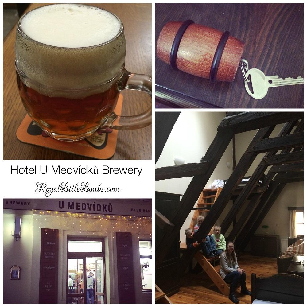 Hotel U Medvídků Brewery