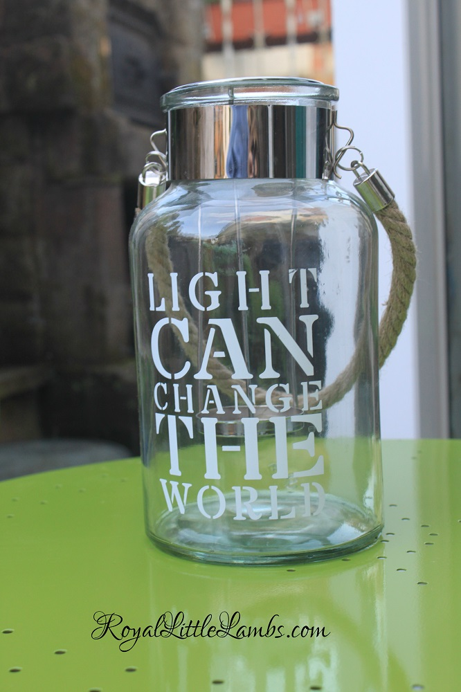Light Can Change the World