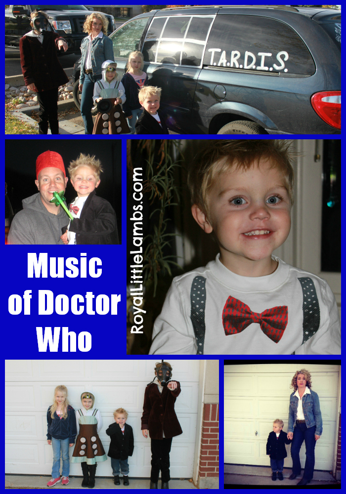 Music of Doctor Who unit study with free notebooking page!