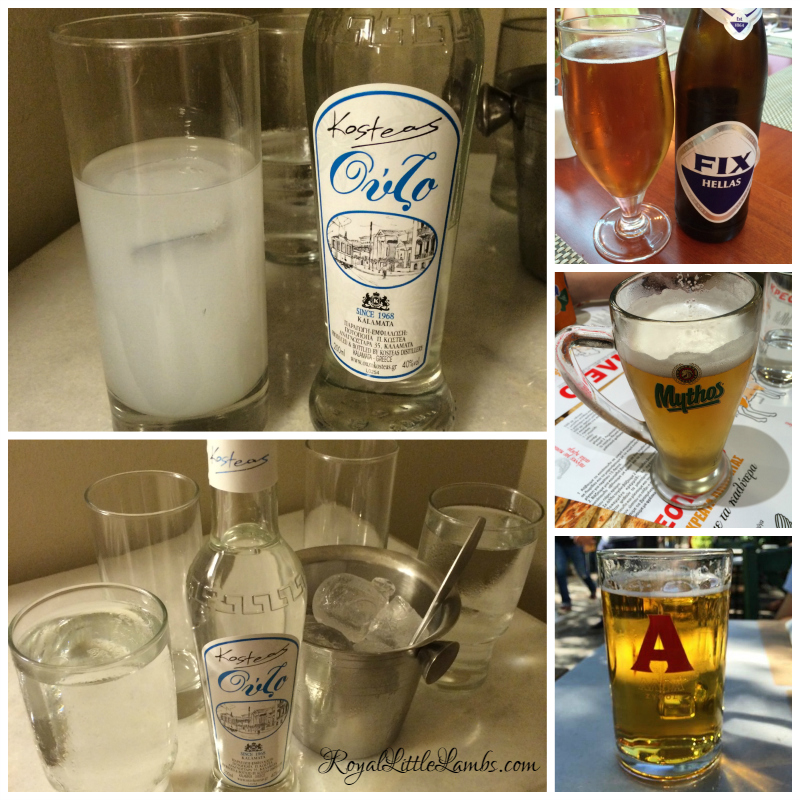 Ouzo and Beer