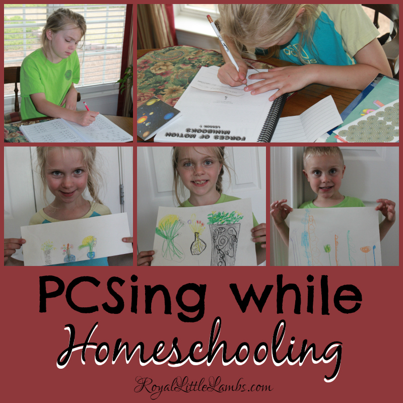 PCSing While Homeschooling - What do we bring?
