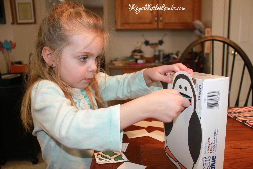 Penguin Feeding Game