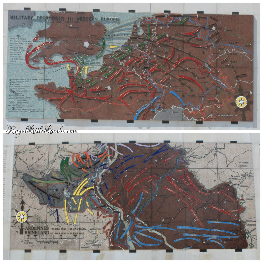 Relief Maps of Western Europe and Ardennes