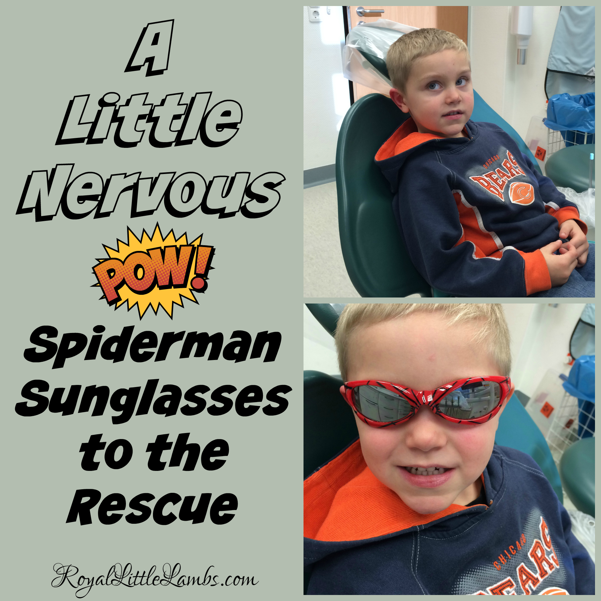 Spiderman Sunglasses to the Rescue