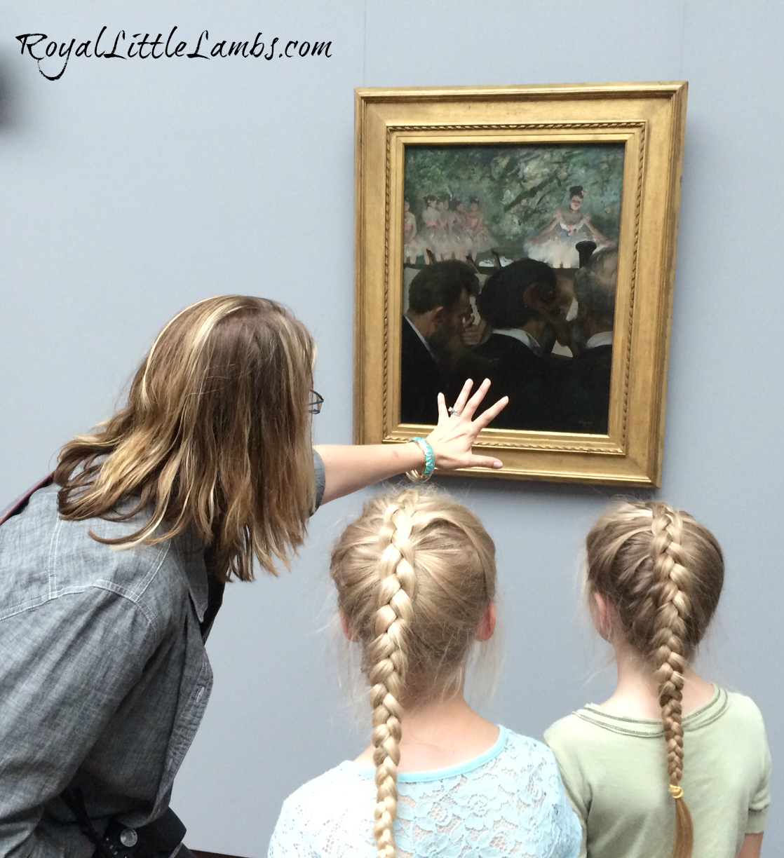 Teaching Perspective with Degas