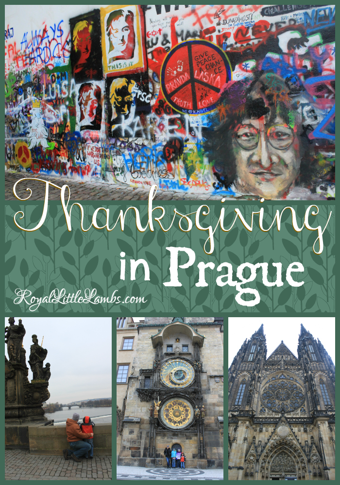 Thanksgiving in Prague