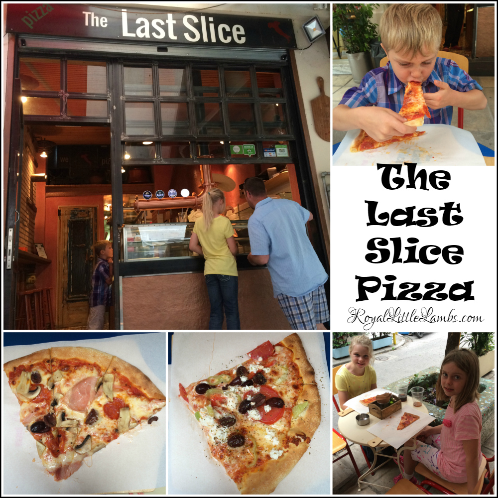 The Last Slice Pizza in Thessaloniki