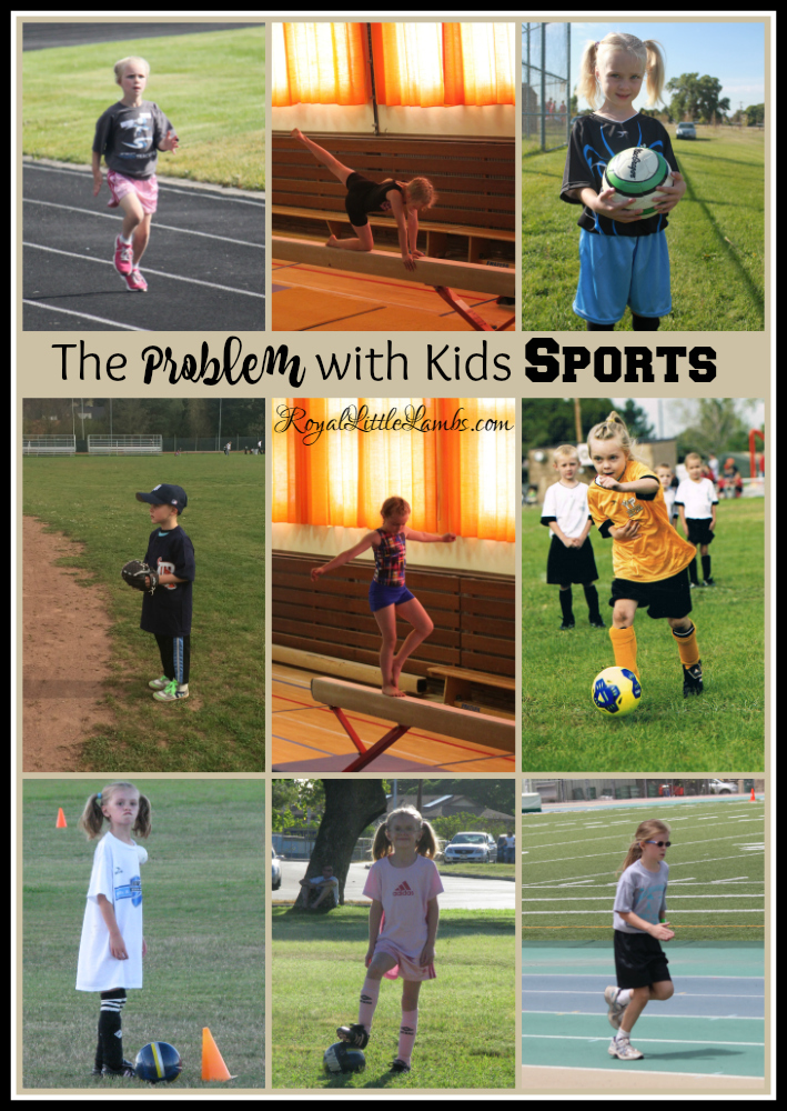 The Problem with Kids Sports