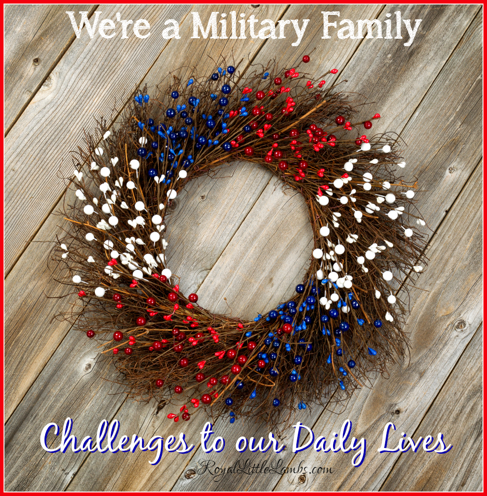 Were a Military Family-Challenges to Our Daily Lives