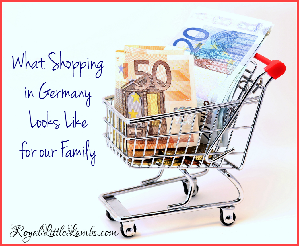 What Shopping in Germany Looks Like for Our Family