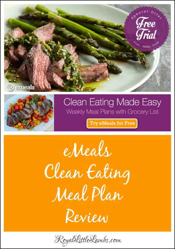 eMeals Clean Eating Meal Plan Review