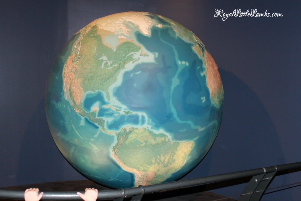 illuminated Earth model