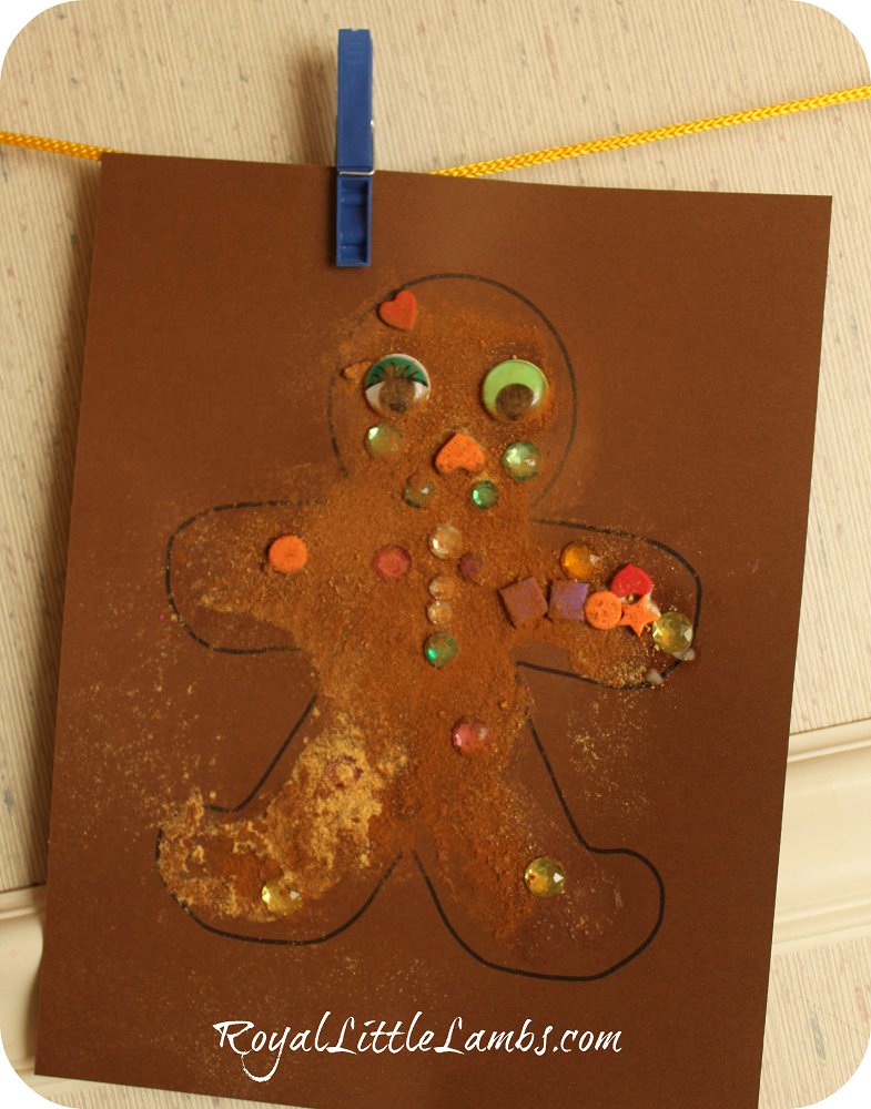 scented gingerbread paper craft